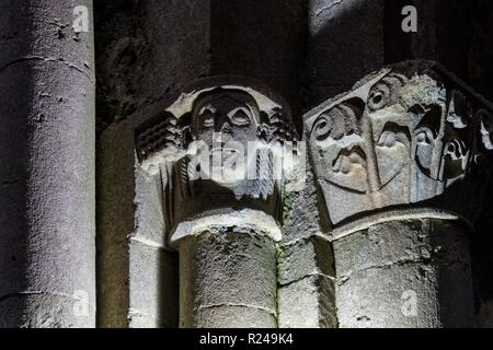 Der Corcomroe Abbey, The Burren, County Clare, Munster, Republik Irland, Europa - Stockfoto