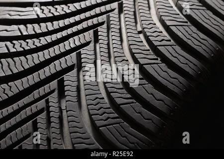 Reifen Reifenprofil closeup Hintergrund bearbeiten Jetzt copyspace