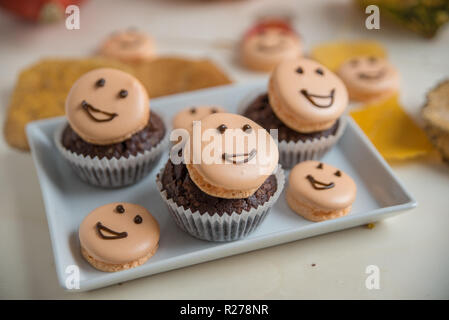 Halloween Cupcakes - Stockfoto