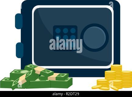 Isoliert Geld Icon Design - Stockfoto