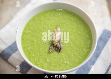 Grüne Suppe - Stockfoto
