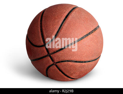 Alte Basketball Ball - Stockfoto