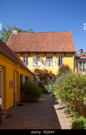 Von Hoeveln Schleifring, Lübeck, Schleswig-Holstein, Deutschland, Europa - Stockfoto