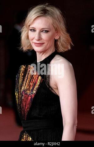 13. Rom Film Fest - Das Haus mit einer Uhr In seinen Mauern - Premiere mit: Cate Blanchett, Wo: Rom, Latium, Italien Wann: 19 Okt 2018 Credit: WENN.com - Stockfoto