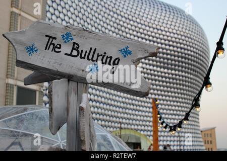 Birmingham der Frankfurter Weihnachtsmarkt - Stockfoto