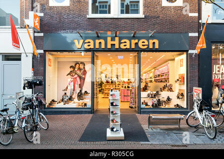 Van Haren Niederlassung in Delft, Niederlande. Van Haren ist