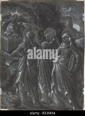 1a93aacab9748 Die drei Frauen am Grab  Vorderseite . Vom  C. 1600. Maße  gesamt ...