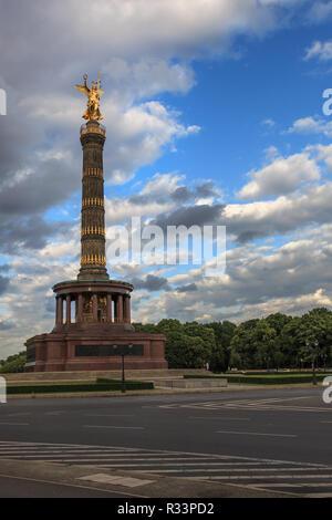 Siegessäule, großer Stern, Tiergarten, Berlin - Stockfoto