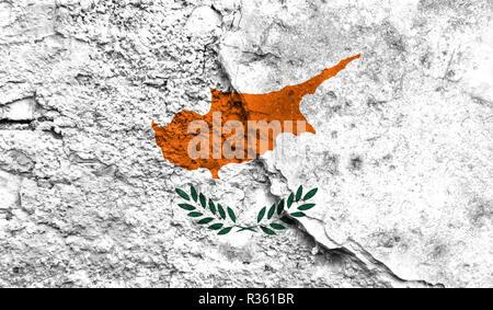 flagge zypern auf mauer textur hintergrund stockfoto bild 169336279 alamy. Black Bedroom Furniture Sets. Home Design Ideas