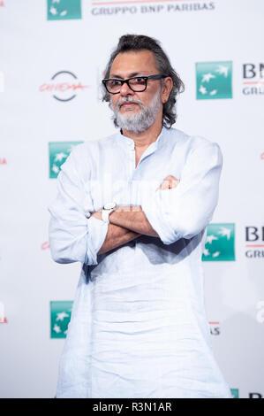 13. Rom Film Fest - 'My Sehr geehrter Herr Premierminister'-Fotoshooting mit: Rakeysh Omprakash Mehra, Wo: Rom, Italien Wann: 23.Okt 2018 Credit: WENN.com - Stockfoto