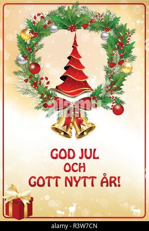 frohe weihnachten in schwedisch italienisch spanisch englisch franz sisch und deutsch mit. Black Bedroom Furniture Sets. Home Design Ideas