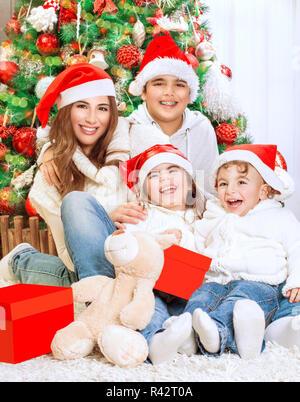 Glückliche Familienbild - Stockfoto