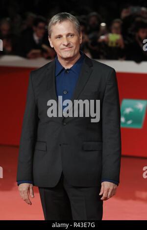 """13. Rom Film Fest - """"Grünbuch""""-Premiere Mit: Viggo Mortensen, Wo: Rom, Italien Wann: 24.10.2018: IPA/WENN.com ** Nur für die Veröffentlichung in Großbritannien, den USA, Deutschland, Österreich, Schweiz ** verfügbar - Stockfoto"""