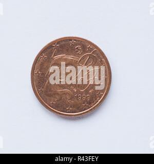 Münze 2 Cent Frankreich Stockfoto Bild 49916588 Alamy