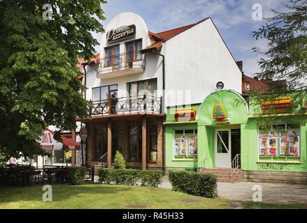 Anzeigen von Kostrzyn nad Odra. Polen - Stockfoto