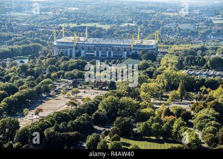 Signal Iduna Park, BVB, Fußball Stadion, Dortmund, Ruhrgebiet, Nordrhein-Westfalen, Deutschland