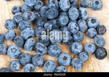 blauen Heidelbeeren closeup - Stockfoto