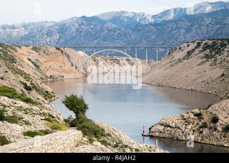 Jasenice Autobahnbrücke - Stockfoto
