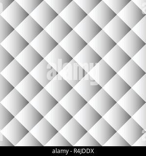 Weiß Sofa nahtlose Muster - Stockfoto
