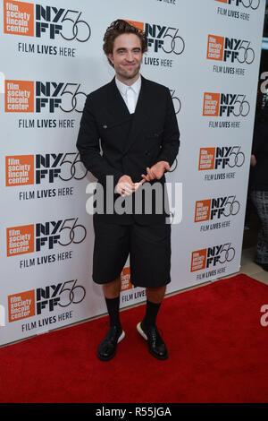 Rob Pattinson besucht die 56th New York Film Festival Premiere von 'High Life' in der Alice Tully Hall, Lincoln Center am 2. Oktober 2018 in New York City. - Stockfoto