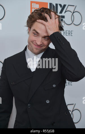 Rob Pattinson besucht die 56th New York Film Festival Premiere von 'High Life' in der Alice Tully Hall, Lincoln Center am 2. Oktober 2018 in New York City. - Stockfoto
