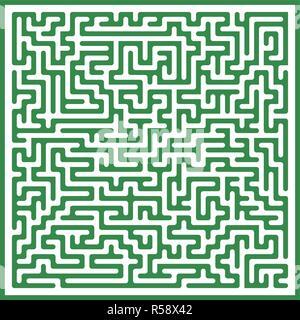 Vektor Labyrinth Hintergrund - Stockfoto