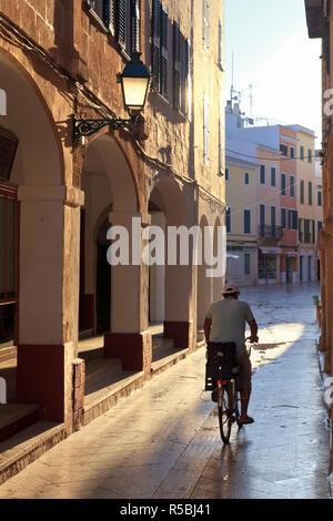 Spanien, Balearen, Menorca, Ciutadella, Altstadt - Stockfoto