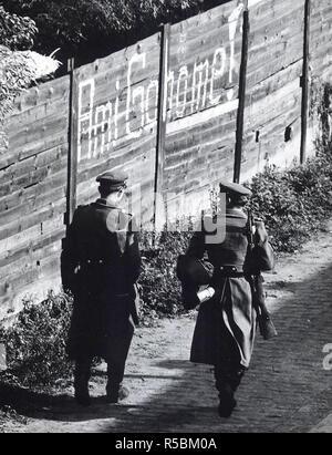 10/19/1961 - Heidelberstrasse, Neukölln Berlin - Stockfoto
