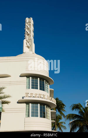 Das Essex House Hotel, Collins Avenue, Miami Beach, Florida, USA. - Stockfoto