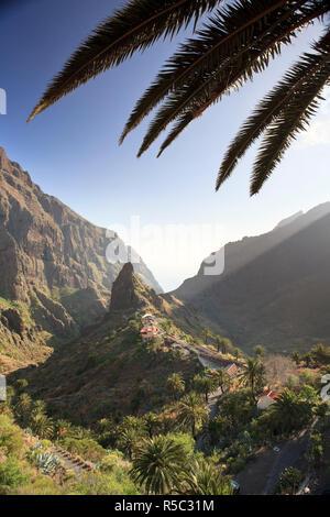 Kanarischen Inseln, Teneriffa, Masca Bergdorf - Stockfoto