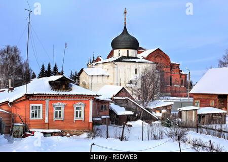 Saint George Cathedral (1234), Yuryev Polsky, Vladimir Region, Russland - Stockfoto