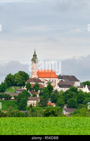 Kloster Andechs - Stockfoto