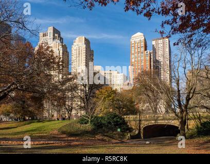 Central Park, New York City, Ende November 2018