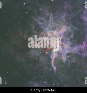 Mystic Mountain. Region in der Carina Nebula. - Stockfoto