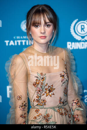 London, Großbritannien. 2. Dez 2018. Molly Wright besucht die 21. British Independent Film Awards am Old Billingsgate am 02. Dezember in London, England 2018. Credit: Gary Mitchell, GMP-Media/Alamy leben Nachrichten - Stockfoto