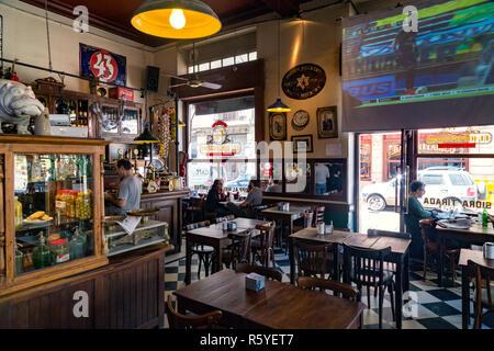 """Bar """"El Hipopotamo'. San Telmo, Buenos Aires, Argentinien. - Stockfoto"""