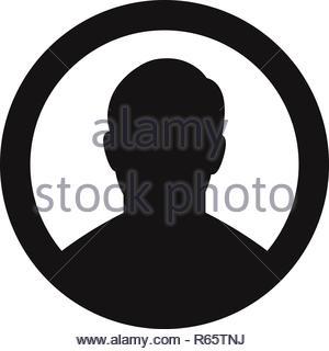 Benutzer Vektor icon - Stockfoto