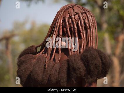 Himba Frau, Cunene Provinz, Oncocua, Angola - Stockfoto