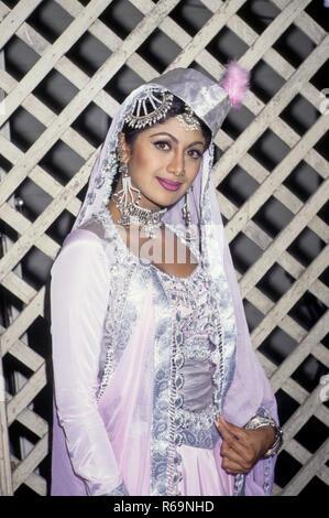 Asiatische indische Bollywood Hindi Film Schauspielerin Shilpa Shetty KEINE MR - Stockfoto