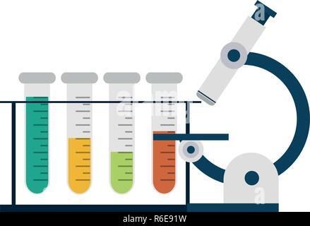 Wissenschaftliche Experimente und Untersuchungen - Stockfoto
