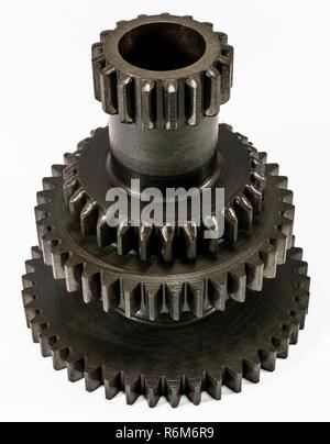 Antike Automotive Cluster Gang Getriebe - Stockfoto