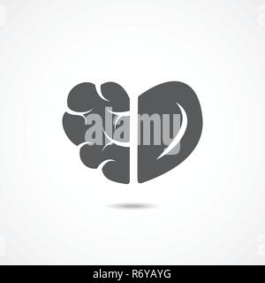 Emotionale Intelligenz Symbol - Stockfoto