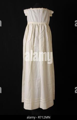 8a95e0b8be1832 ... Kleid oder Taufe Kleid in Weiß Baumwolle