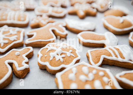 Weihnachten-Lebkuchen - Stockfoto
