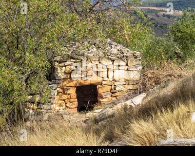 Shepherd's Stone Shelter - Viana - Stockfoto