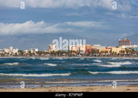 Die so genannte Ballermann, El Arenal, S'Arenal in der Nähe von Playa de Palma, Platya de Palma, Mallorca, Mallorca, Balearen, Spanien, Europa - Stockfoto