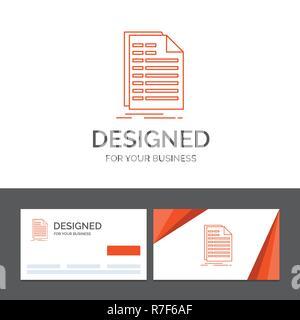 Business Logo Für Bill Excel Datei Rechnung Aussage
