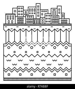 weltkarte einfache cartoon und stil vektor vektor. Black Bedroom Furniture Sets. Home Design Ideas