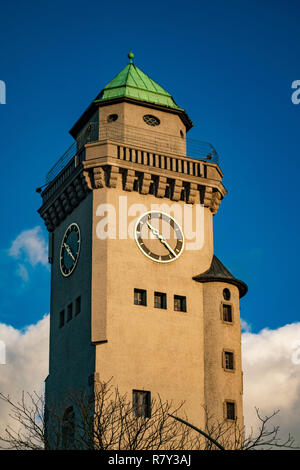 "Old Clock Tower"" Kasinoturm"" in Berlin Frohnau Deutschland - Stockfoto"