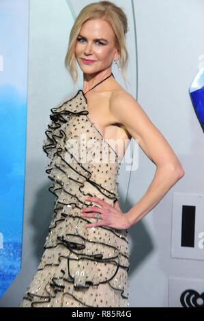 """Los Angeles, USA. 12. Dezember 2018. Schauspielerin Nicole Kidman besucht die Premiere von Warner Bros. Pictures' """"aquaman"""" am 12. Dezember 2018 TCL Chinese Theatre in Hollywood, Kalifornien. Foto von Barry King/Alamy leben Nachrichten - Stockfoto"""